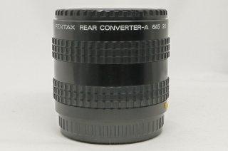 PENTAX REAR CONVERTER-A 645 2× 極上美品