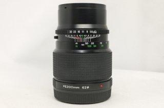 ブロニカ ETR用 PE 200mm F4.5 新品同様