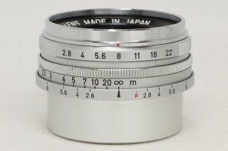 キャノン L 28mm F2.8 ライカLマウント 極上美品