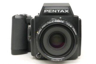 ペンタックス 645 smc PENTAX-A 75mm F2.8付 極上美品
