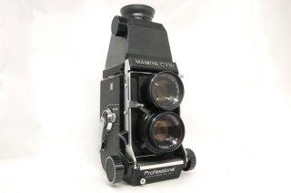 マミヤ C330 プロフェッショナル 80mm F2.8付 拡大ルーペ付 極上美品