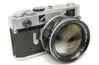 キャノン 7S  50mm F0.95 ケース付