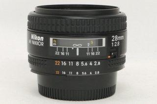 ニコン AF NIKKOR 28mm F2.8 極上美品
