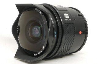 ミノルタ AF FISH-EYE 16mm F2.8 極上美品