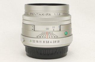 smc PENTAX-FA 77mm F1.8 Limited シルバー 日本製 極上美品