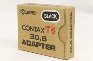 CONTAX T3用 30.5 アダプター ブラック 元箱付 新品