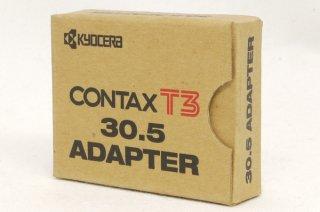 CONTAX T3用 30.5 アダプター クローム 元箱付 新品