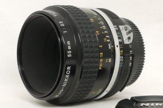 ニコン Ai マイクロ NIKKOR 55mm F3.5 極上美品
