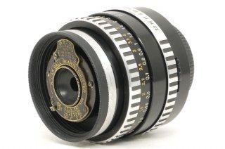M42マウントにべス単レンズ付き