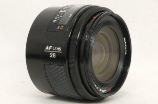 ミノルタ AF 28mm F2 極上美品