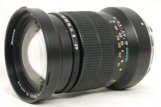 マミヤ N 150mm F4.5 L (7、7�用) 元箱、フード付 新品同様