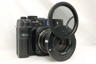 スライド式 マミヤ PLフィルター ZE702 (マミヤ 7�用) 元箱付 極上美品