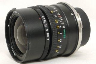 マミヤ N 65mm F4 L (7、7�用) 元箱、フード付 極上美品