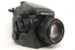 マミヤ 645 PRO TL 80mm F2.8 N付 AEプリズムファインダー付 極上美品