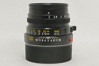 ライカ ズミクロン M 50mm F2 E39 第3世代 フード付 極上美品