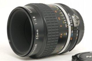 ニコン Ai NIKKOR 55mm F2.8S マクロ 極上美品