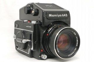 マミヤ M645 1000S AE付 80mm F2.8 極上美品
