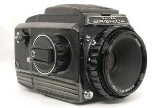 ブロニカ S2 ブラック 後期 極上美品