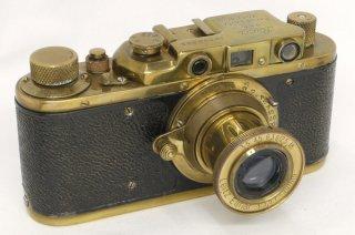 ライカ �型 エルマー 50mm F3.5付 ゴールド (ロシア製 コピーライカ) 美品