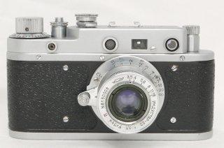 ゾルキー C インダスター 50mm F3.5付 極上美品