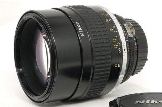 ニコン AI NIKKOR 105mm F1.8S 極上美品