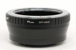 マイクロフォーサーズカメラにヤシカコンタックスレンズを付けるアダプター 極上美品