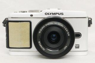 オリンパス PEN E-P3  14-42mm付 電池2個付 極上美品