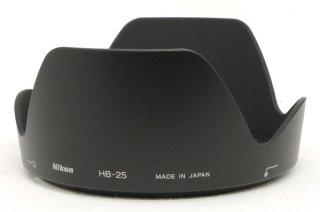 ニコン バヨネット式レンズフード HB-25 新品同様