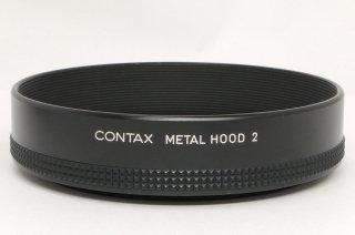 コンタックス メタルフード 2 極上美品