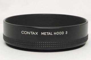 コンタックス メタルフード 3 極上美品