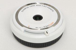 オリンパス 9mm F8.0 FISHEYE ボディーキャップレンズ BCL-0980 マイクロフォーサーズ 極上美品