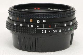コンタックス テッサー 45mm F2.8 MMJ 新品同様