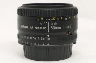ニコン AF NIKKOR 50mm F1.8D 極上美品