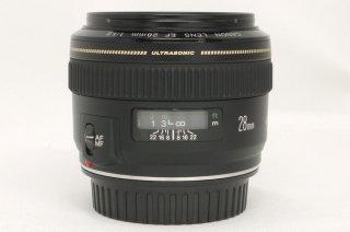 キャノン EF 28mm F1.8 USM フード付 極上美品