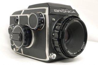 ブロニカ EC (NIKKOR-P・C 75mm F2.8付) 美品