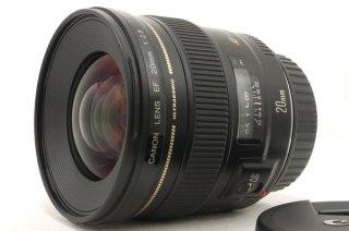 キャノン EF 20mm F2.8 フード、ケース付 新品同様