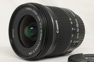 キャノン EF-S 10-18mm F4.5-5.6 IS STM 極上美品