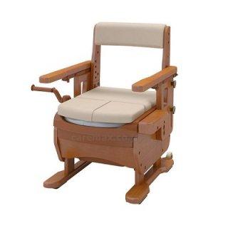 安寿 家具調トイレセレクトR はねあげ  533-865 標準便座