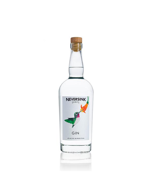 ネバーシンク スピリッツ ジン  Neversink Spirits Gin