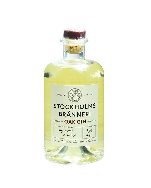 ストックホルム ブランネリ オーク ジン 500ml 45%