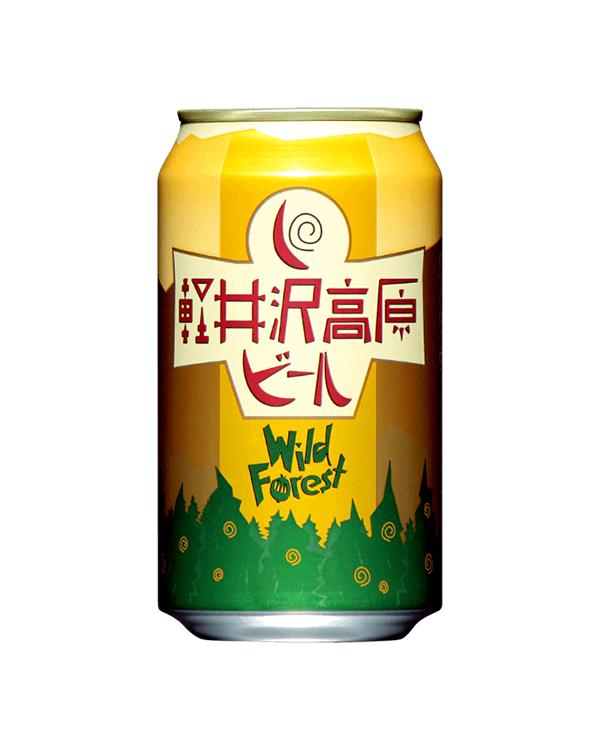 軽井沢高原ビール ワイルドフォレスト 350ml缶