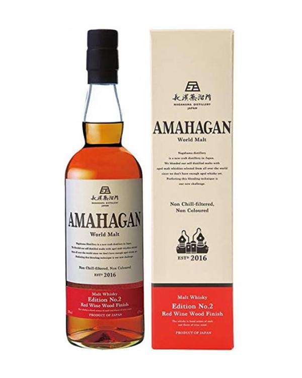 AMAHAGAN(アマハガン) World Malt Edition No.2 Red Wine Wood Finish