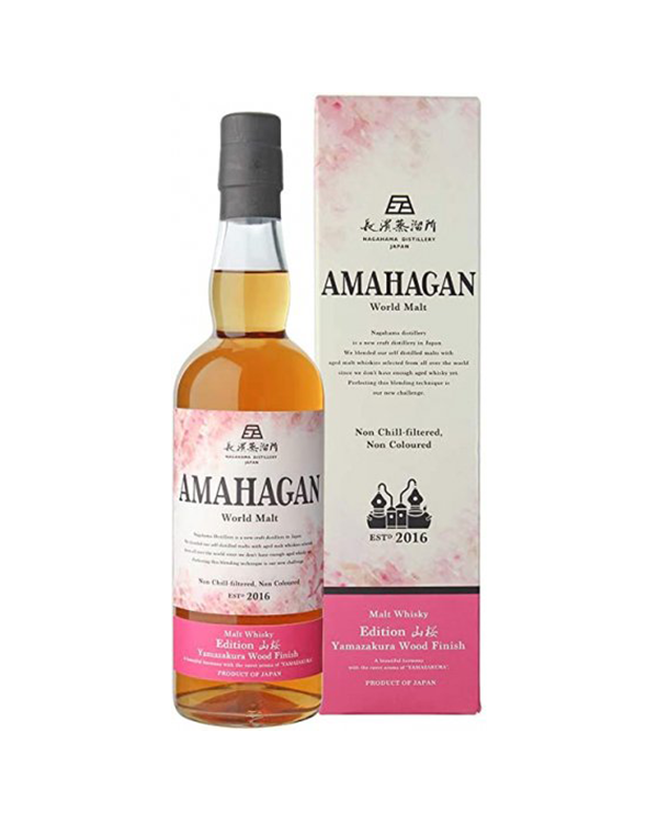 AMAHAGAN (アマハガン)World Malt Edition 山桜