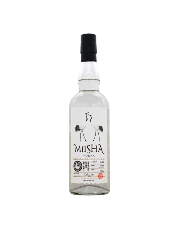 ミーシャ ウォッカ MIISHA VODKA Heritage Edition Rice 700ml 40%