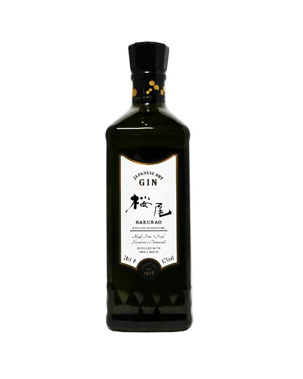 桜尾ジン オリジナル SAKURAO GIN ORIGINAL 700ml 47%