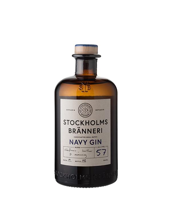 ストックホルム ブランネリ ネイビー ジン 500ml/57%