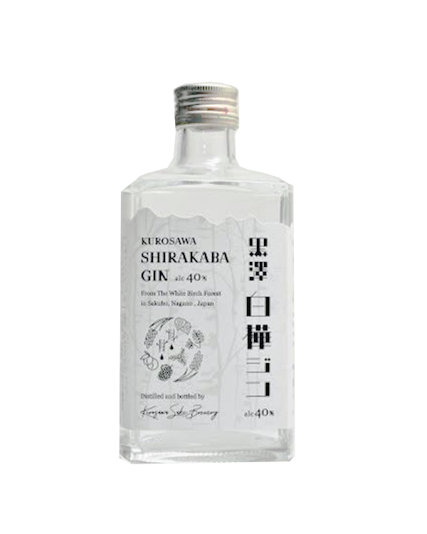 KUROSAWA SHIRAKABAGIN 500ml 40%