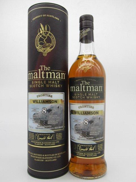 モルトマン ウィリアムソン2012 8年 シェリーカスク 700ml 55.2%