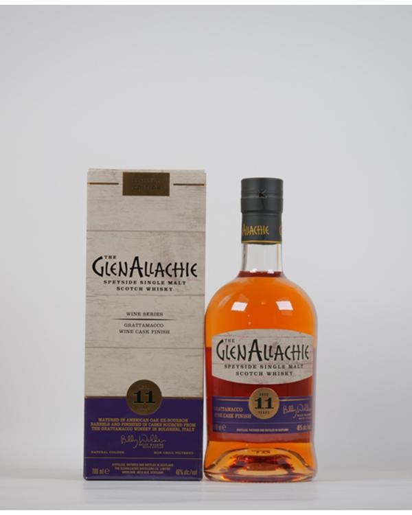 グレンアラヒー 11年 グラッタマッコ ワインカスク フィニッシュ 700ml / 48%