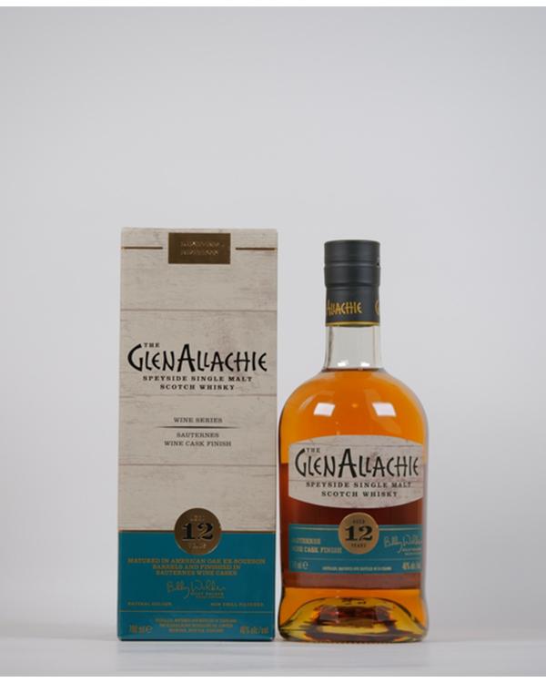 グレンアラヒー 12年 ソーテルヌ ワインカスク フィニッシュ 700ml / 48%